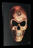 Small Canvas Skull - Omega Skull