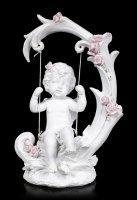 Angel Figurine - Cherub on Swing