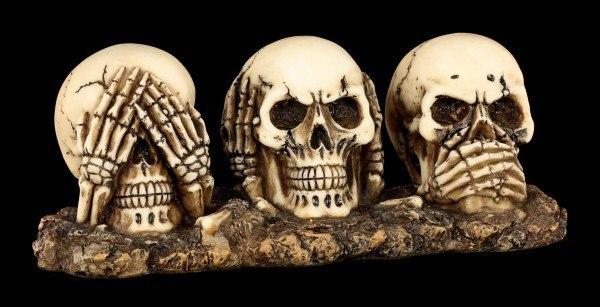Drei Weise Totenköpfe - Nichts Böses