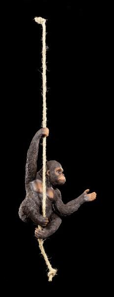Gorilla Figure hanging on Rope - King of Swing