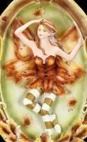 Autumn Fairy Figurine - Autumna with Greenman