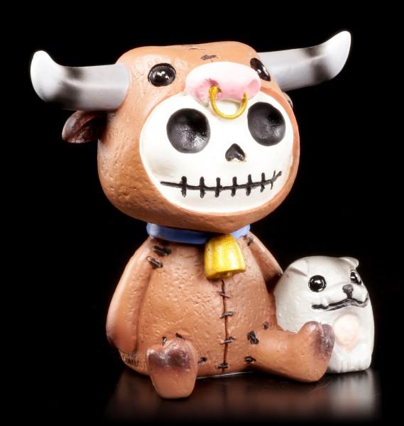 Furry Bones Figurine - Bull