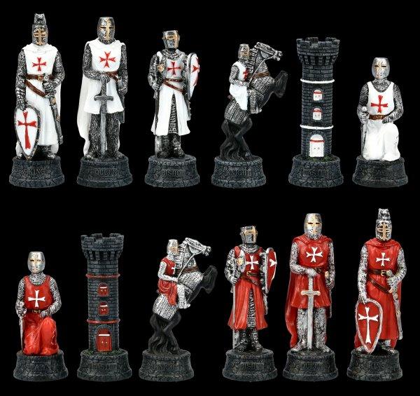 Chessmen Set - Templars