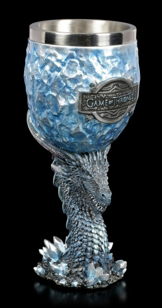 Game of Thrones Goblet - Dragon Viserion White Walker