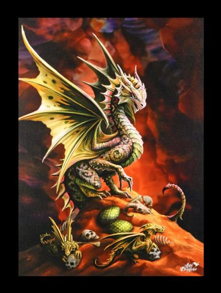 Kleine Leinwand Wüstendrache - Desert Dragon