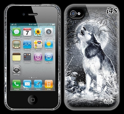 Fantasy Hardcase - White Wolf