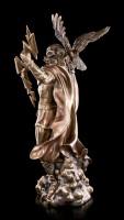 Large Zeus Figurine - Greek God Father with Eagle