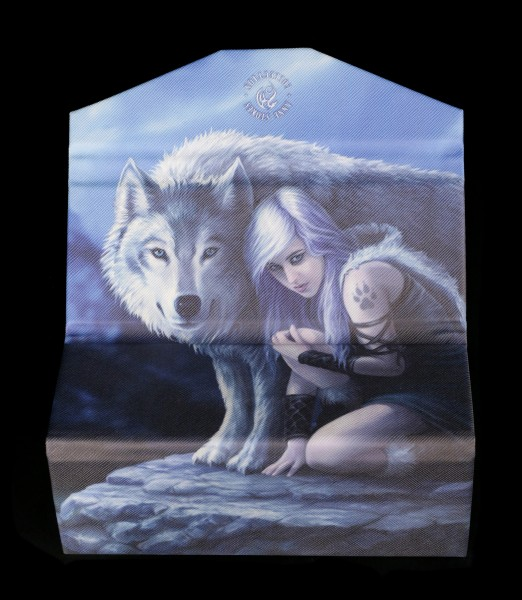 Glasses Case with Wolf - Protector