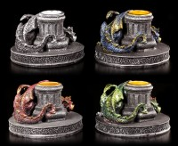 Dragon Candle Holder - Set of 4