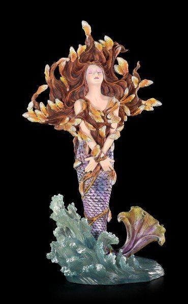 Mermaid Figurine - Metamorphose - by Sheila Wolk