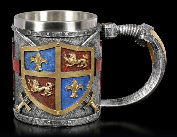 Medieval Tankard - Crest - colored