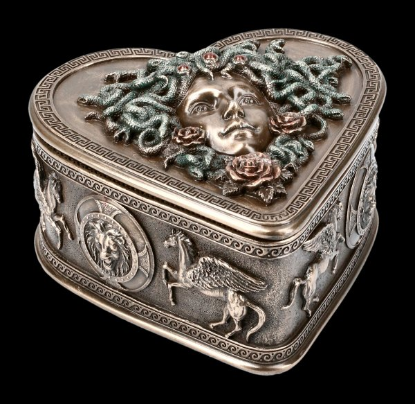 Heart shaped Medusa Box