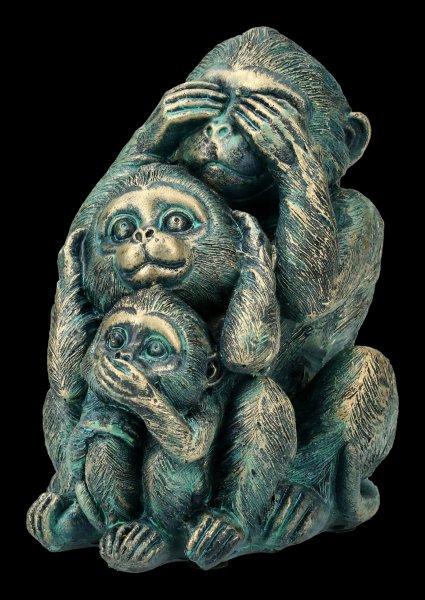 Monkey Figurine - No Evil