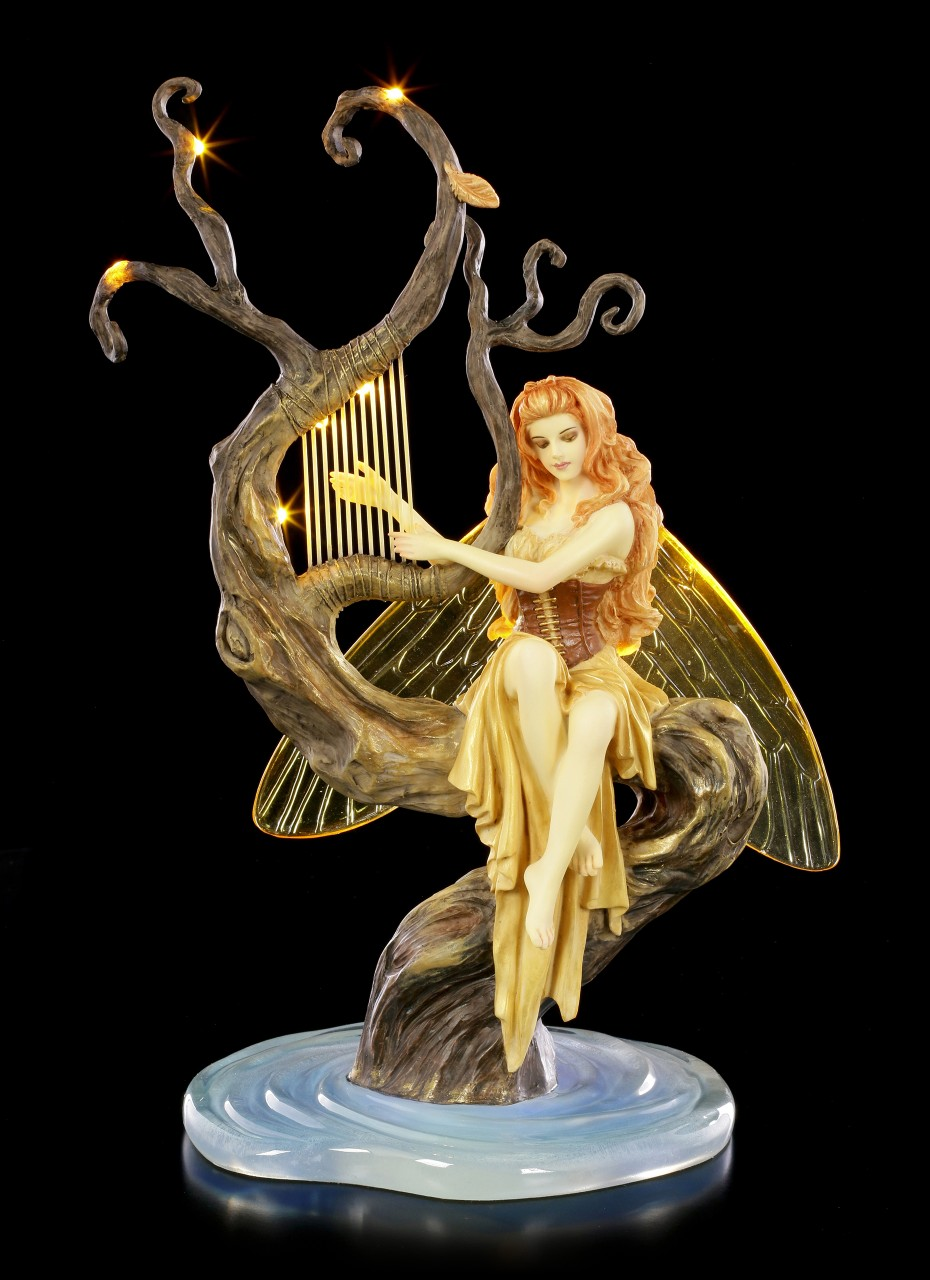 Elfen Figur mit LED - Firefly's Song