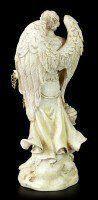 Small Archangel Figurine - Saeltiel - White