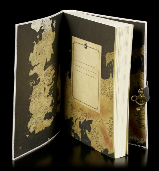 Large Game of Thrones Journal - Winter is Coming