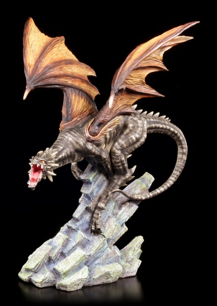 Dragon Figurine - Carnage on Rock