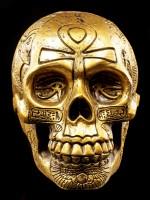Egyptian Skull - gold colored