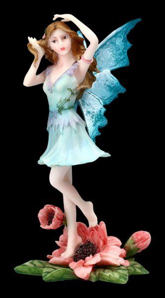 Fairy Figurine . Yella Dancing on Flower