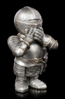 Three little Knight Figurines - No Evil