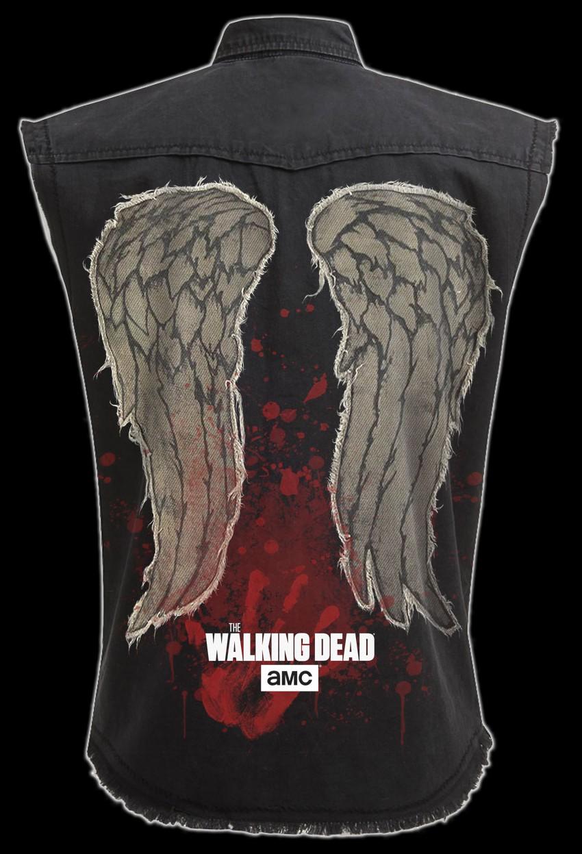 Worker Shirt - The Walking Dead - Daryl Wings