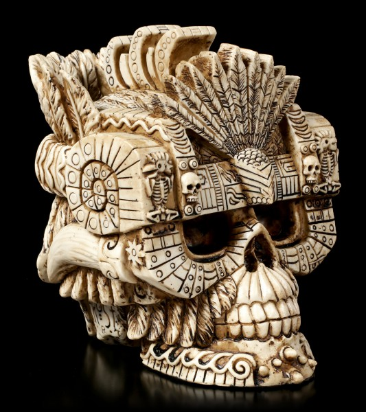 Aztec Gods Skull - Montezuma