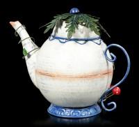 Elfen Teekannen Haus Metall - Tubby Teapot