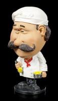 Funny Job Figurine - Bobblehead Cook