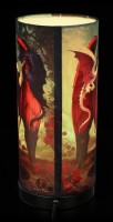 Tischlampe mit Drachen - Dragon Mistress