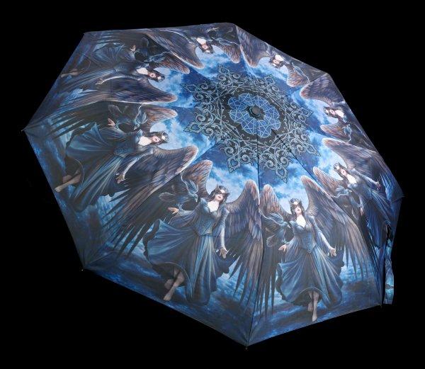 Regenschirm mit Engel - Raven