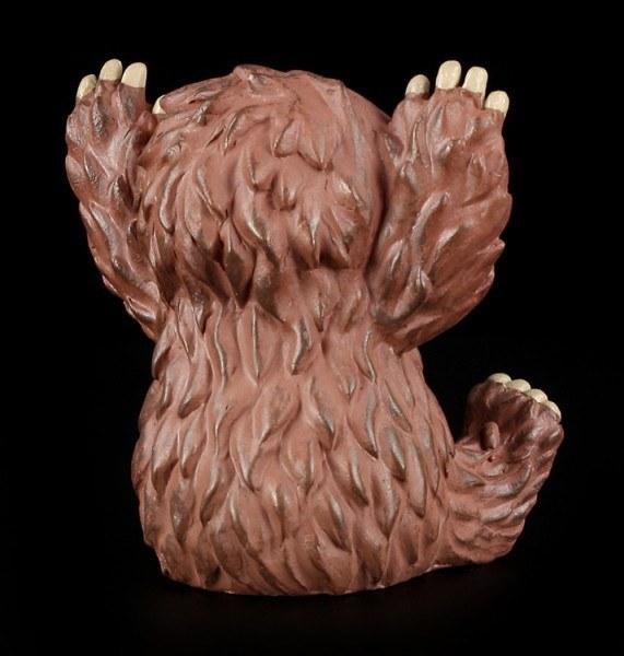 Große Furry Bones Figur - Bigfoot