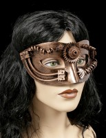 Steampunk Maske - Pipes and Gears
