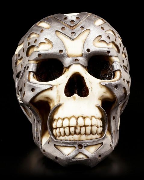 Totenkopf mit Exoskelett