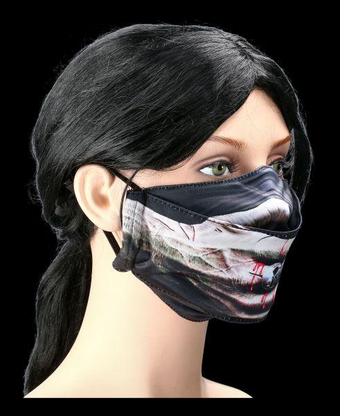Face Mask Vampire Hand - Speechless