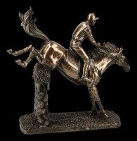 Jockey Figur - Springreiter