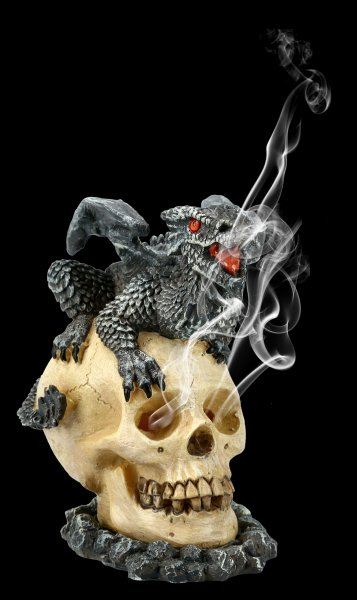 Drachen Räucherkegelhalter - Soul Guardian