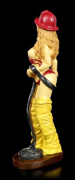 Erotik Figur - Sexy Feuerwehrfrau