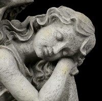 Angel Garden Figurine - Dreaming