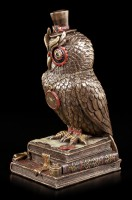 Steampunk Figurine - Owl Thirst for Knowledge