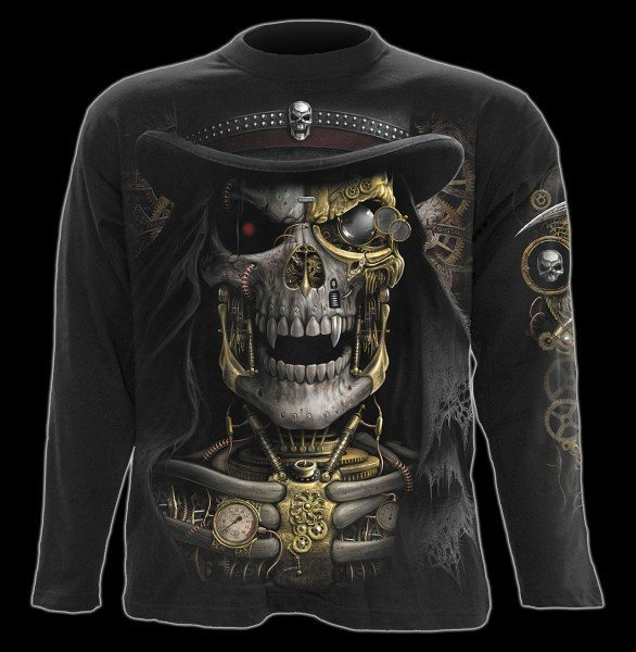 Steam Punk Reaper - Longsleeve