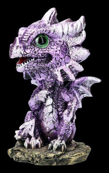Bobble Head Figurine - Dragon Bobling - purple