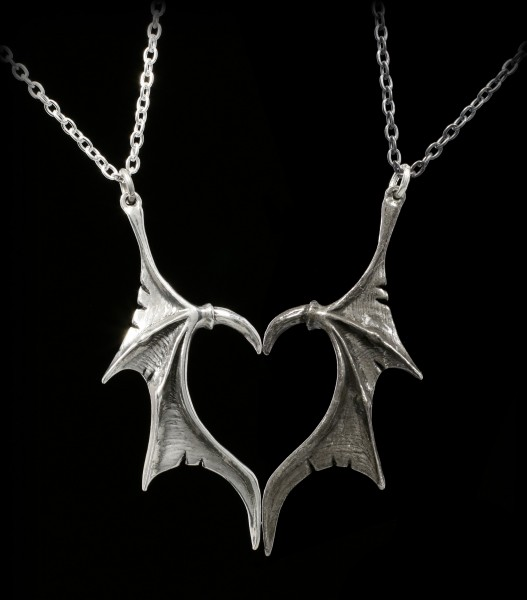 Alchemy Gothic Necklace - Darkling Heart