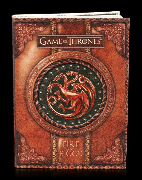 Game of Thrones Journal - Fire and Blood