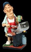 Funny Job Figurine - Gas BBQ Master