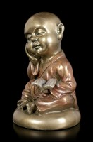 Monk Figurine with Book