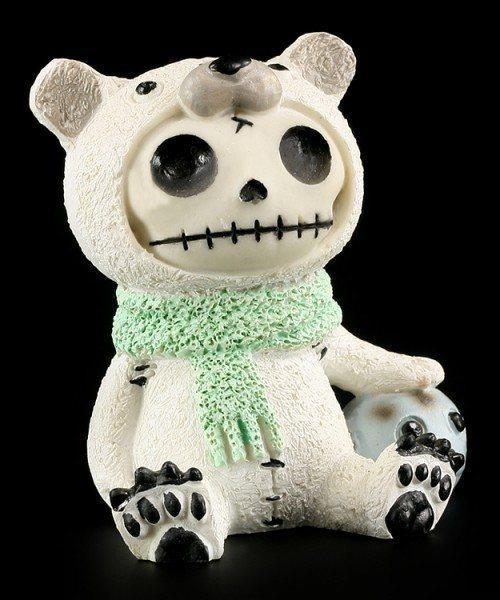 Polar Bear - Furry Bones Figure