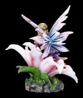 Fairy Land Figurine - Fairy on a Lily