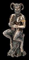 Pan Figur mit Panflöte
