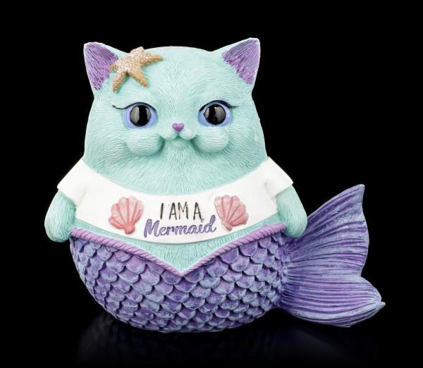 Katzen Figur - Snapcat I am a Mermaid