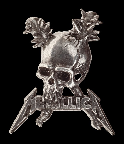 Metallica Damage Inc. Totenkopf Pin - Alchemy Rocks
